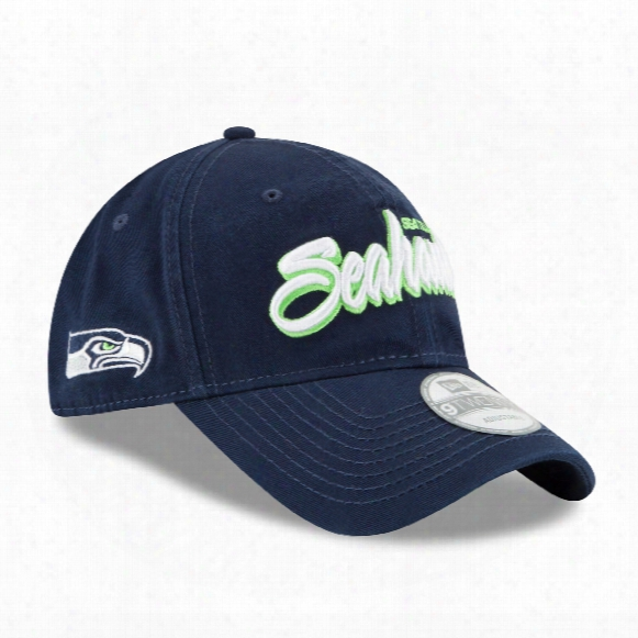 Seattle Seahawks Core Shore Script Relaxed Fit 9twenty Cap