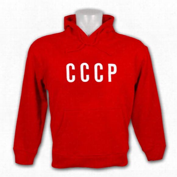 Soviet Union Patriotic Pullover Hoody (red)