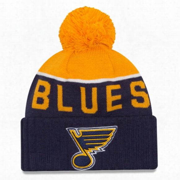 St. Louis Blues New Era Nhl Cuffed Sport Knit Hat