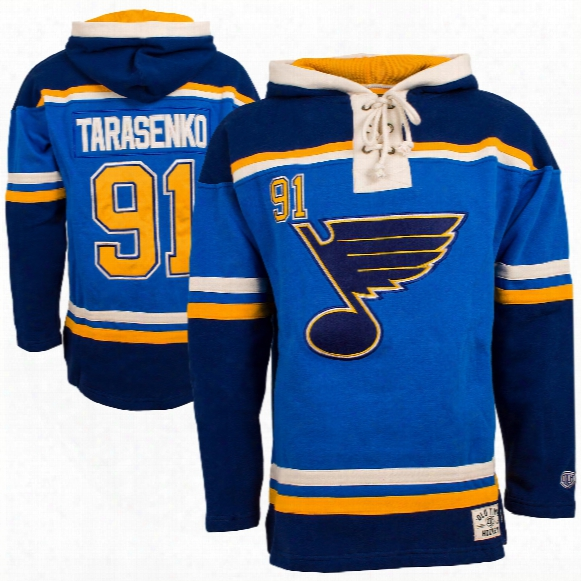 St. Louis Blues Vladimir Tarasenko Heavyweight Jersey Lacer Hoodie