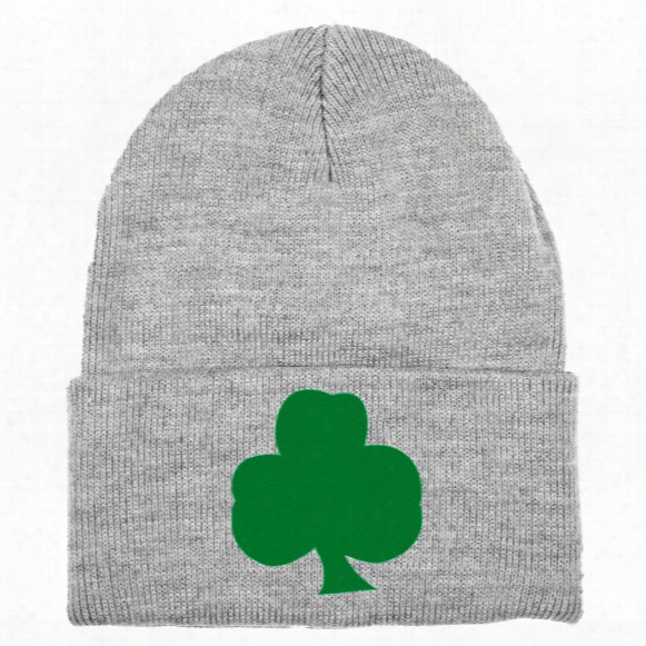 St. Patrick's Irish Pride Solid Knit Hat (sport Gray)