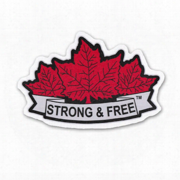 *strong & Free* Printed Crest