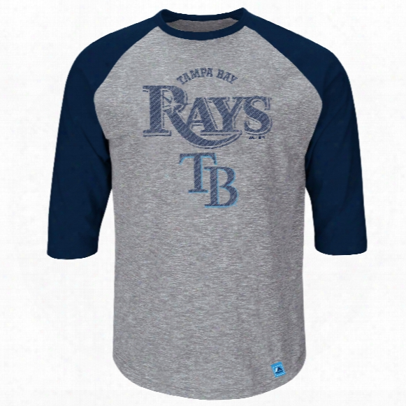 Tampa Bay Rays Fast Reach 3 Quarter Sleeve T-shirt