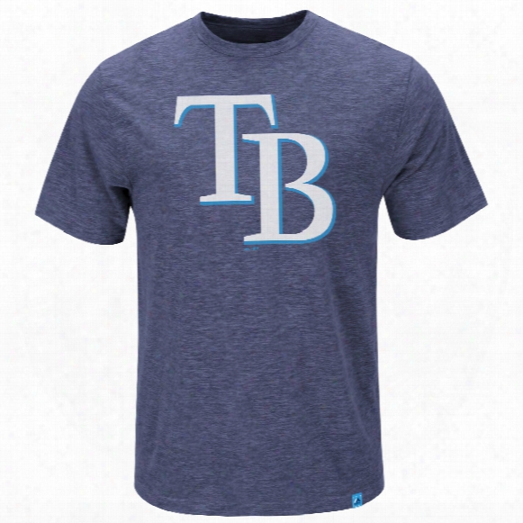 Tampa Bay Rays Mental Metal Slub T-shirt