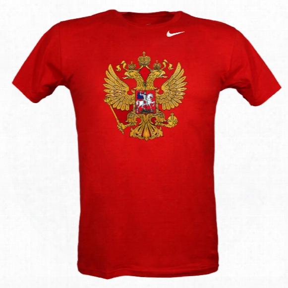 Team Russia Iihf Logo T-shirt