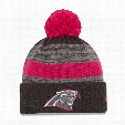 Carolina Panthers Women's NFL Breast Cancer Awareness Sport Knit Hat