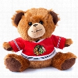 Chicago Blackhawks 7.5 inch Jersey Sweater Bear