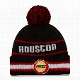 Houston Rockets New Era NBA Cuffed Vintage Select Pom Knit Hat