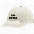 Life is Good Classic Chill Cap (Bone)