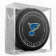 St. Louis Blues Replica Game Puck with Case