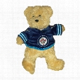 Winnipeg Jets 8 inch Fuzzy Bear
