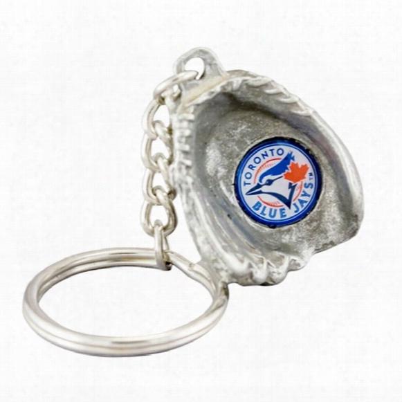 Toronto Blue Jays 3d Baseball Glove Keychain