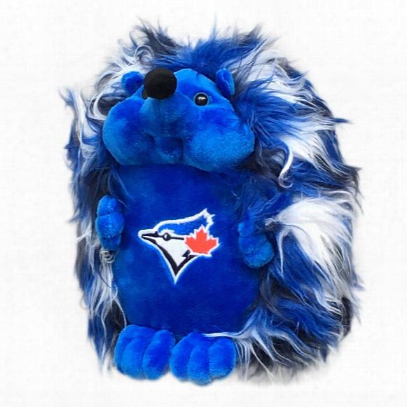 Toronto Blue Jays 8 Inch Fluffy Hedgehog