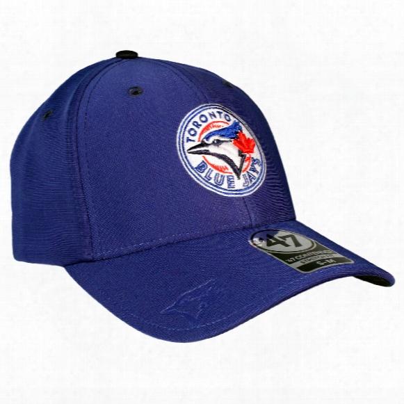 Toronto Blue Jays Big Boss Stretch Fit Cap (royal)