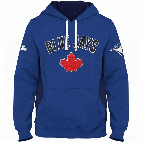 Toronto Blue Jays Chenille Crest Pinch Hit Hoodie