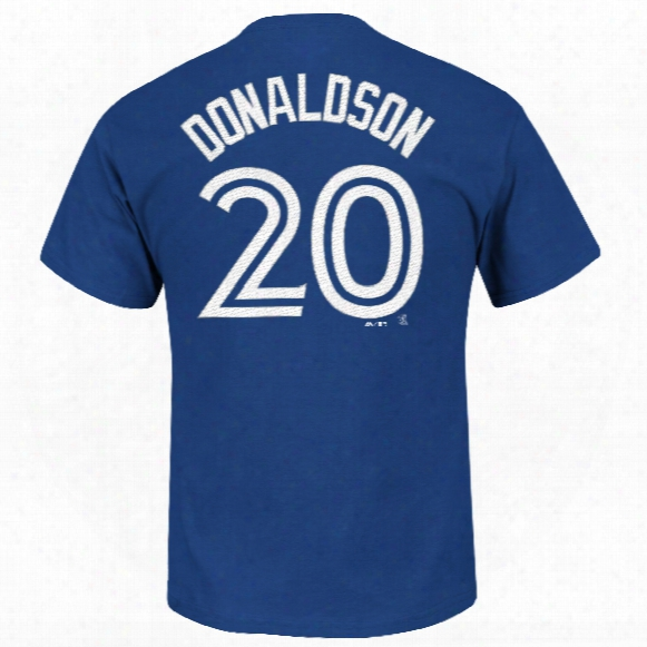 Toronto Blue Jays Josh Donaldson Mlb Player Name & Number T-shirt