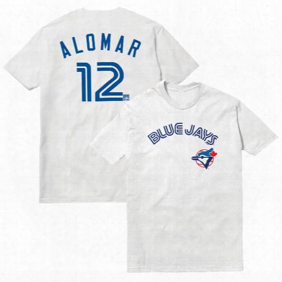 Toronto Blue Jays Roberto Alomar Cooperstown Player Name & Number T-shirt