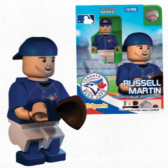 Tronto Blue Jays Russell Martin Oyo Sports Minifigure