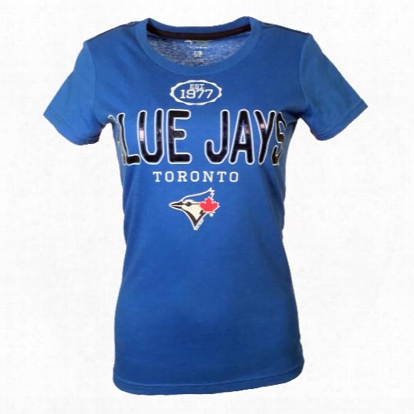 Toronto Blue Jays Women's Round The Bases T-shirt