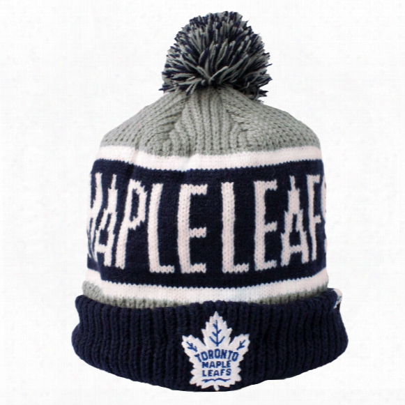 Toronto Maple Leafs 2016-17 Calgary Cuff Knit Hat