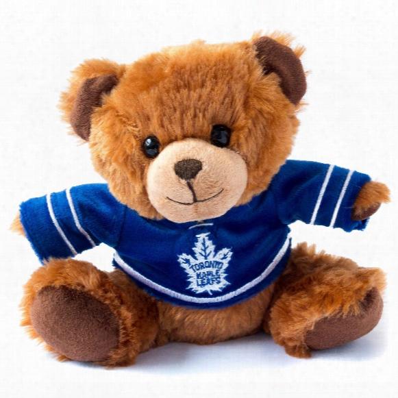 Toronto Maple Leafs 7.5 Inch Jersey Sweater Bear