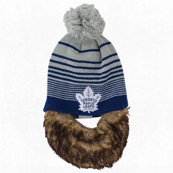 Toronto Maple Leafs Bertram Knit Hat With Removable Beard