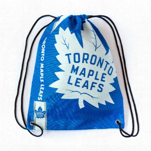 Toronto Maple Leafs Drawstring Big Logo Bag