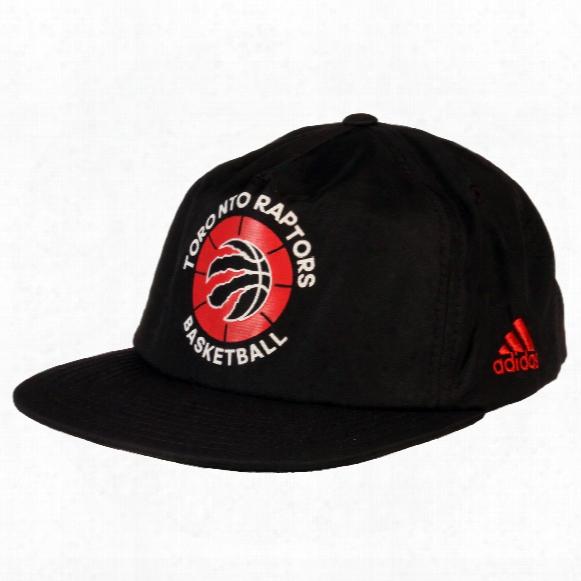 Toronto Raptors Adidas Nba Nylon Pinched Snapback Cap