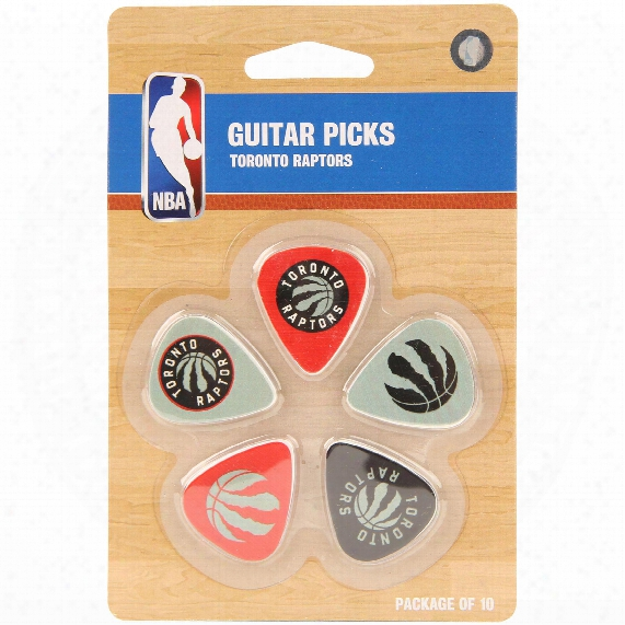 Toronto Raptors Woodrow Guitar 10-pack Guitar Picks