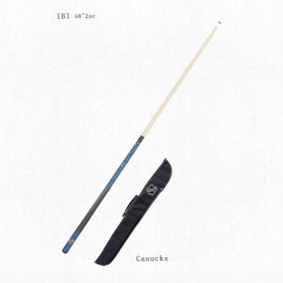 Vancouver Canucks Billiard Hint Stick And Case Set