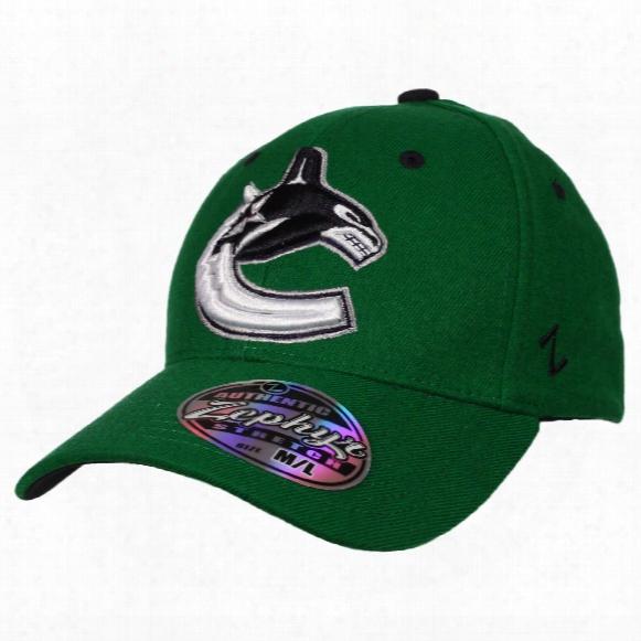 Vancouver Canucks Breakaway Zfit Flex Cap (green)