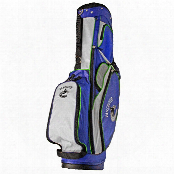 Vancouver Canucks Golf Carry Stand Bag