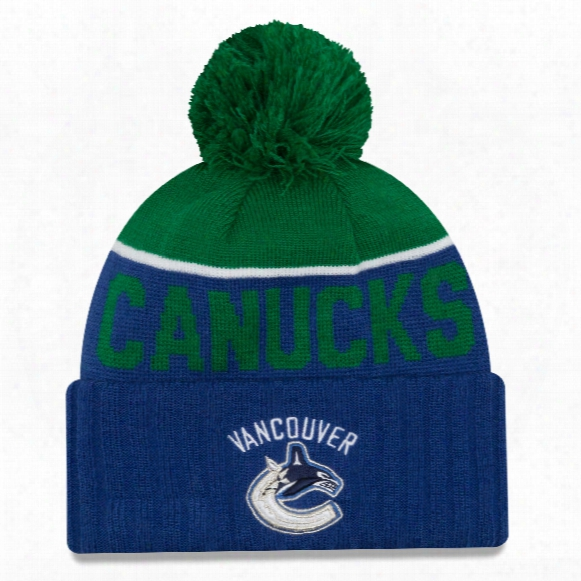 Vancouver Canucks New Era Nhl Cuffed Sport Knit Hat