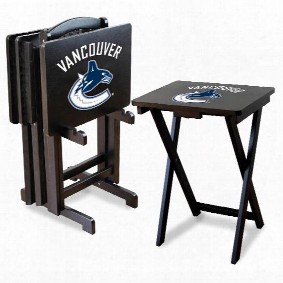 Vancouver Canucks Tv Snack Tray Set