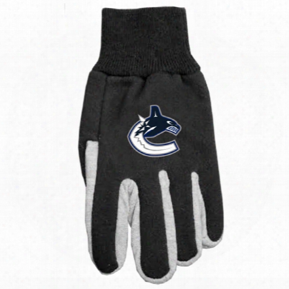 Vancouver Canucks Utility Gloves