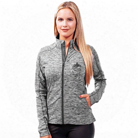 Vancouver Canucks Women's Signature Script Atlantis Jacket