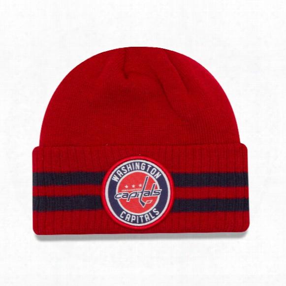 Washington Capitals New Era Nhl Cuffed 2 Striped Remix Hat