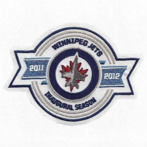 Winnipeg Jets 2011-12 Season Innaugural Embroidered Patch