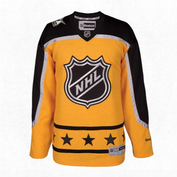2017 Nhl All-star Atlantic Division Premier Replica Gold Hockey Jersey