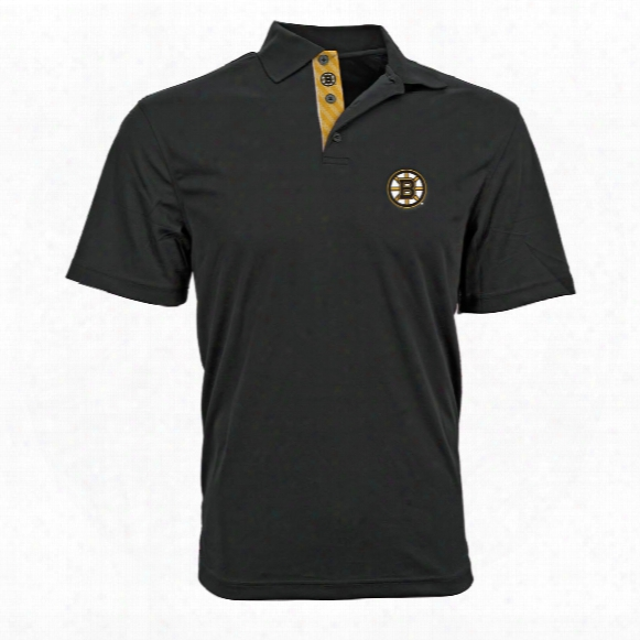 Boston Bruins Omaha Skate Lace Polo