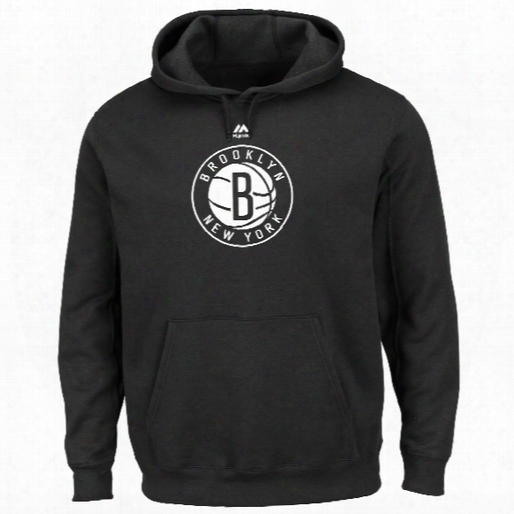 Brooklyn Nets Primary Logo Nba Hoodie
