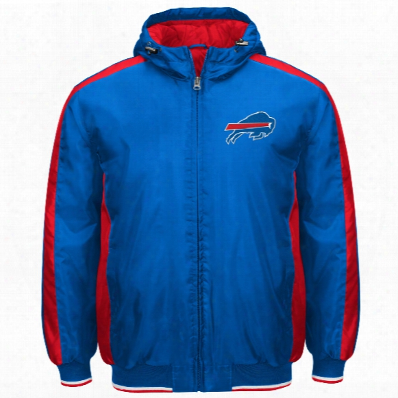 Buffalo Bills Poly Filled Parka Full Zip Jacket