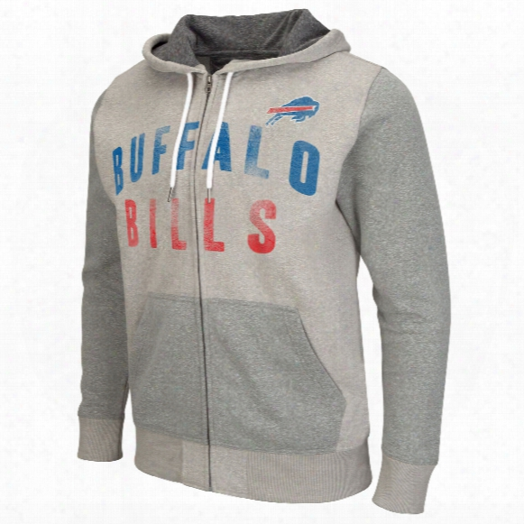 Buffalo Bills Safety Full Zip Hoodie
