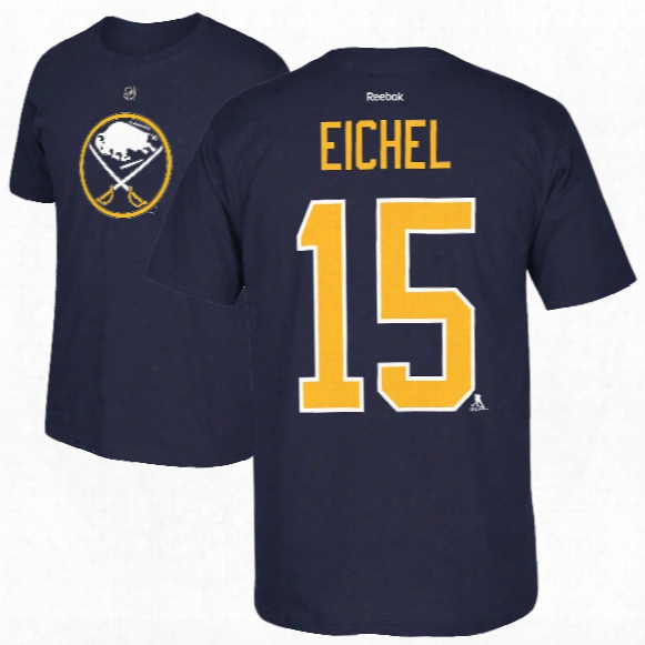 Buffalo Sabres Jack Eichel Youth Nhl Player Name & Number T-shirt