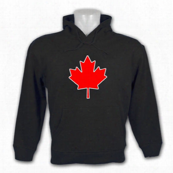 Canada National Emblem Pullover Hoody (black)
