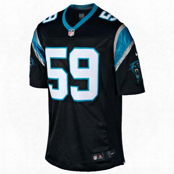 Carolina Panthers Luke Kuechly Nfl Nike Limited Team Jersey