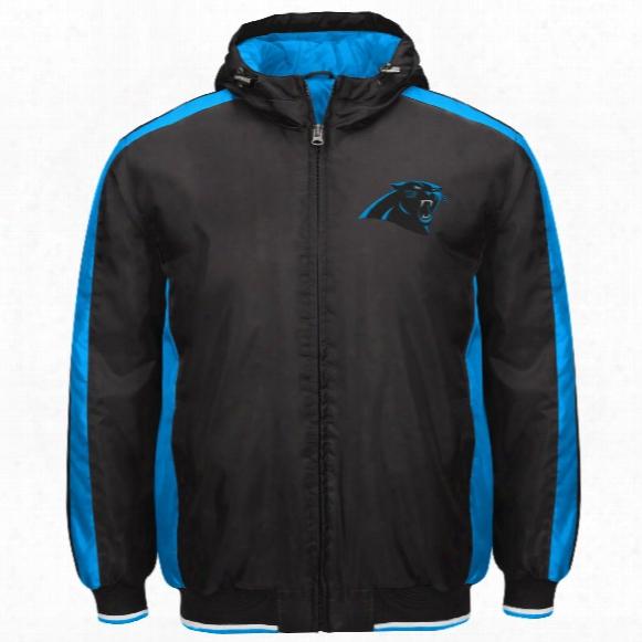 Carolina Panthers Poly Filled Parka Full Zip Jacket