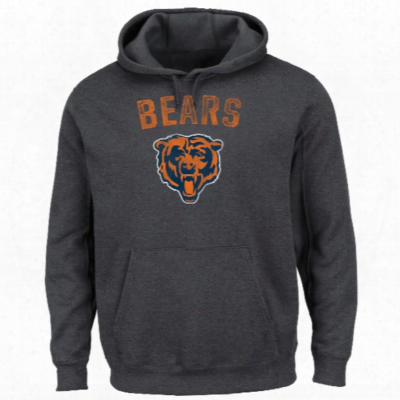 Chicago Bears Nfl 2016 Kick Return Hoodie (charcoal)