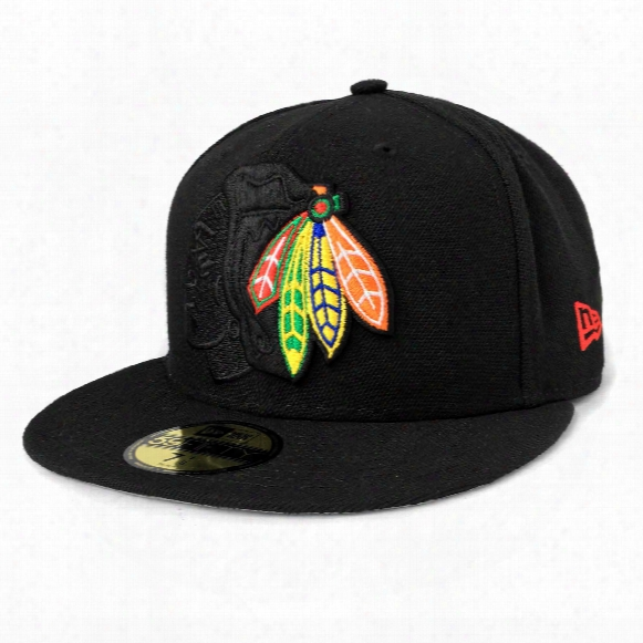 Chicago Blackhawks Nhl Logo Popped 59fifty Cap
