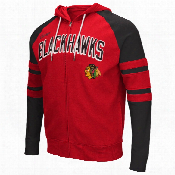 Chicago Blackhawks Stadium Full Zip Hoodie